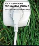 NEW DEVELOPMENTS IN RENEWABLE ENERGY