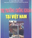 EBook Thị trường chứng khoán tại Việt Nam - PGS.TS.Lê Văn Tề
