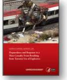Preparedness and Response to a   Mass Casualty Event Resulting   from Terrorist Use of Explosives