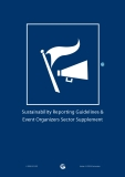 Sustainability Reporting Guidelines & Event Organizers Sector Supplement