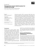 Báo cáo khoa học:  Nanoparticle–enzyme hybrid systems for nanobiotechnology