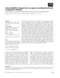 Báo cáo khoa học: Caenorhabditis elegans has two genes encoding functional D-aspartate oxidases