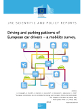Driving and parking patterns of  European car drivers --- a mobility survey