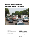 Identifying Unsafe Driver Actions  that Lead to Fatal Car-Truck Crashes