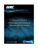 DESIGN & BUILD A PORTABLE HYDROGEN REFUELING STATION