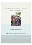 World Transport, Policy & Practice  Volume 17.4 January 2012: A Future Beyond the Car?