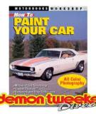 How to Paint Your Car – The Written  Guide