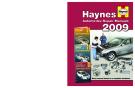 Haynes Automotive Repair Manuals  2009