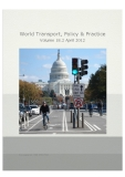 World Transport, Policy & Practice  Volume 18.2 April 2012