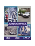 Guidelines for Employers to  Reduce Motor Vehicle Crashes