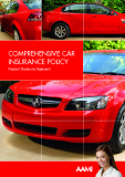 THE COMPREHENSIVE CAR  INSURANCE POLICY