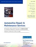 Automotive Repair &  Maintenance Services  2010 & 2015