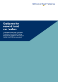 Guidance for second hand car dealer