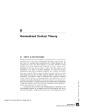 Generalized Control Theory