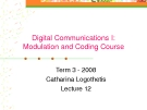 Digital Communication I: Modulation and Coding Course-Lecture 12