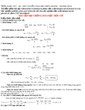 Bài tập tổng hợp hoá hữu cơ lớp 11