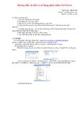 Hướng dẫn cài đặt và sử dụng phần mềm CutViewer