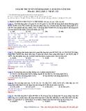 Giải đề thi tuyển sinh đại học, cao đẳng năm 2010 môn Hóa khối A - mã đề 825