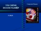 Bài giảng tài chính doanh nghiệp - Chương 1