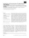 Báo cáo khoa học: Identification and characterization of oxidized human serum albumin A slight structural change impairs its ligand-binding and antioxidant functions