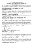 GIẢI CHI TIẾT CÁC CÂU DỄ SAI TRONG ĐỀ THI KHỐI B. 2012 -  Môn thi : HÓA, khối B - Mã đề : 359