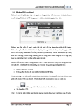 Autocad structural detailing 2012 - phần 5