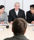 Cách phỏng vấn hiệu quả dành cho sếp