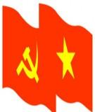 Giáo trình học môn Đường lối cách mạng đảng của cộng sản Việt Nam