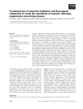 Báo cáo khoa học: Combined use of selective inhibitors and fluorogenic substrates to study the specificity of somatic wild-type angiotensin-converting enzyme