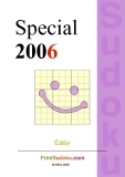 trò chơi ô số   Sudoku special  2006 phần 8