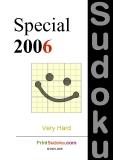 trò chơi ô số   Sudoku special  2006 phần 1