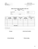 Bảng kê phát hành trái phiếu, công trái - Mẫu số C7-01/KB