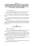 THÔNG TƯ CỦA BỘ TÀI CHÍNH SỐ 228/2009/TT-BTC