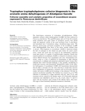 Báo cáo khoa học: Tryptophan tryptophylquinone cofactor biogenesis in the aromatic amine dehydrogenase of Alcaligenes faecalis Cofactor assembly and catalytic properties of recombinant enzyme expressed in Paracoccus denitrificans