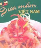 Dưa mắm Việt Nam