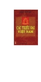 Ebook Các triều đại Việt Nam - NXB Thanh niên
