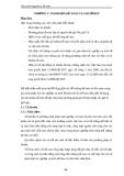 Giáo trình Nguyên lý kế toán - CHƯƠNG 3: TÀI KHOẢN KẾ TOÁN VÀ GHI SỔ KÉP