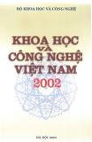 khoa học và công nghệ việt nam 2002 - bộ khoa học và công nghệ