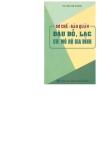 Ebook Sơ chế - bảo quản đậu đỗ, lạc qui mô hộ gia đình - KS. Bùi Kim Khanh