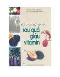 Ebook Kỹ thuật trồng một số cây rau quả giàu vitamin - NXB Nông nghiệp