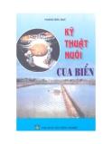 Ebook Kỹ thuật nuôi cua biển - Hoàng Đức Đạt
