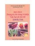 Biện pháp phòng trị côn trùng và nhện gây  hại cây ăn trái (PGS.TS Nguyễn Thị Thu Cúc)