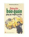 Giáo trình: Hướng dẫn bảo quản giống cây trồng tại gia đình - Nguyễn Thanh Tâm (dịch)