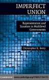 Imperfect UnIon Representationand Taxationin  Multilevel Governments