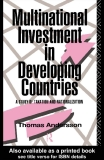 Multinational investment in developing countries