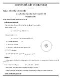 lý thuyết và bài tập vật lý hạt nhân