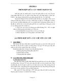 CHƯƠNG 4  PHỐI HỢP GIỮA CÁC THIẾT BỊ BẢO VỆ