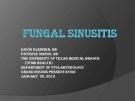 FUNGGAL SINUSITIS