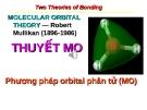 Phương pháp orbital phân từ (MO)