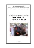 Hướng dẫn lập trình và vận hành máy phay CNC EMCO PC MILL 50